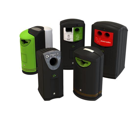 External Recycling Bins