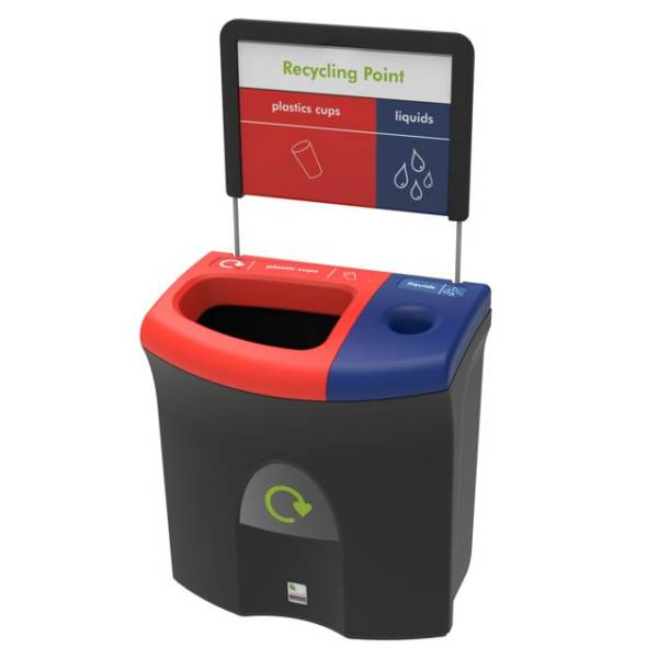 Meridian 87 Recycling Bin
