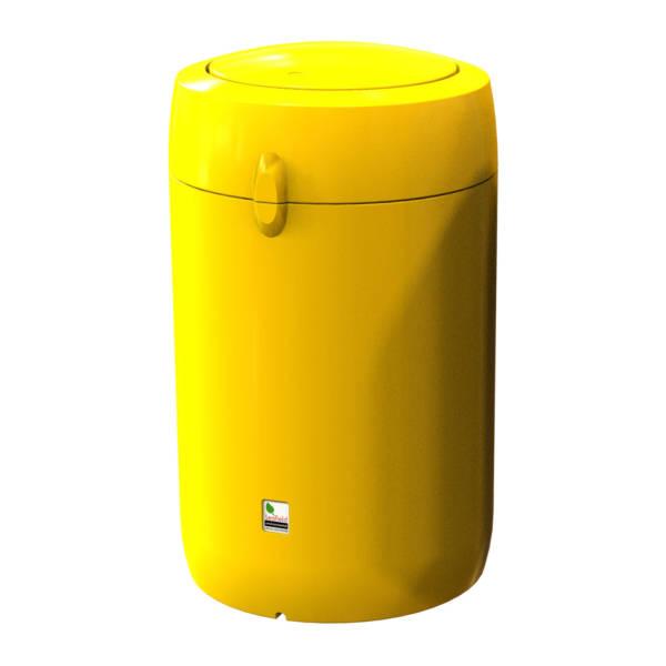 viscount flip top litter bin