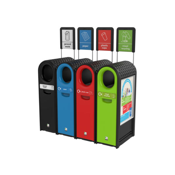 EcoArc External Recycling Bin