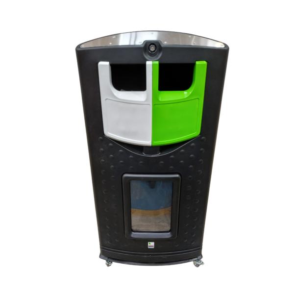 Envirobank Split 310 Recycling Bin