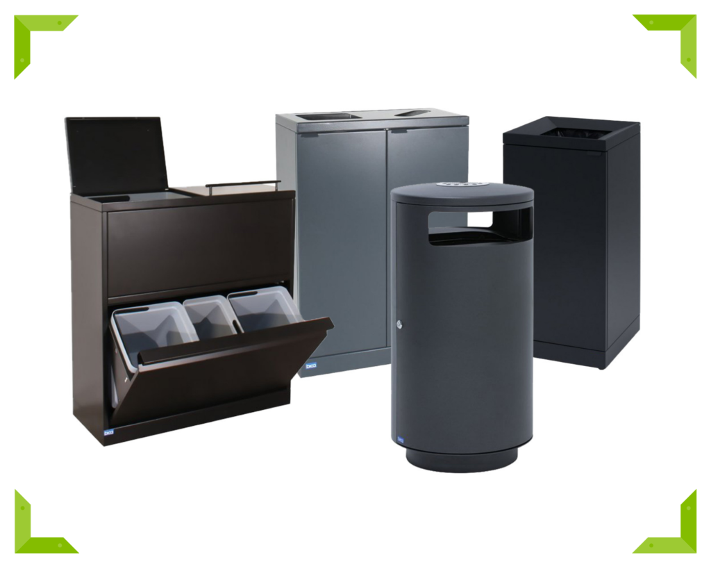 Contemporary Bica® Bins