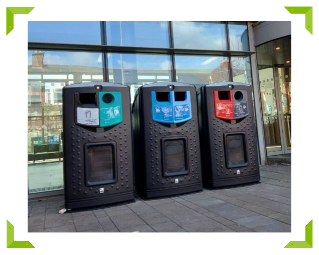 Leafield's New 310-litre Envirobank Recycling Bin
