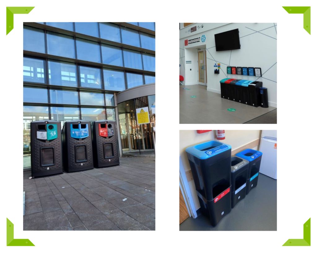 Over 10,000 new Leafield bins at Cardiff University